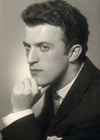 Илья Резник в молодости