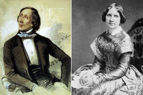 Ганс Христиан Андерсен и Женни Линд