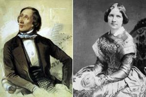 Ганс Христиан Андерсен и Женни Линд - Богиня любви короля сказок