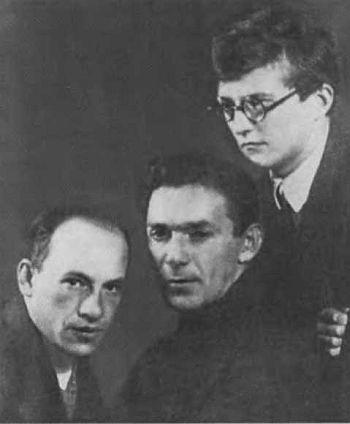 Леонид Утесов с Исааком Дунаевским