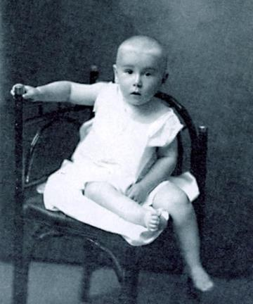 Ростислав Плятт в детстве
