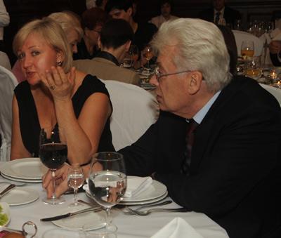 Аллан Чумак с женой Людмилой