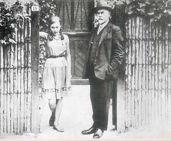 Антон Деникин с дочерью Мариной