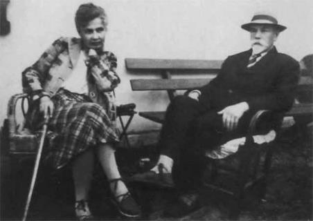 Ксения Васильевна и Антон Иванович Деникины