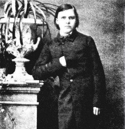Фридрих Ницше в юности
