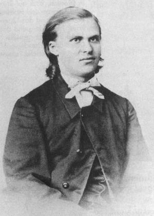 Фридрих Ницше в молодости