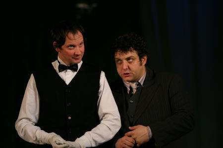 Михаил Полицеймако на сцене театра