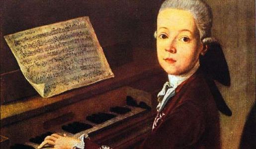 Музыкальный талант Моцарта обнаружился еще в раннем детстве