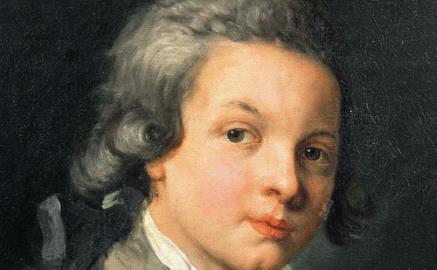 Моцарт в молодости