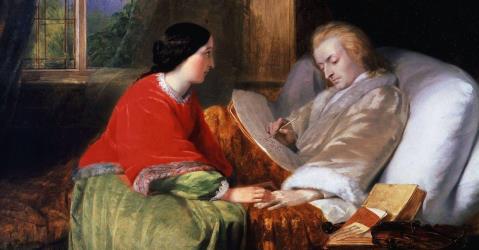 Моцарт перед смертью с женой. Последние дни гения.