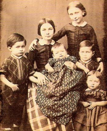 Дети Роберта и Клары Шуман