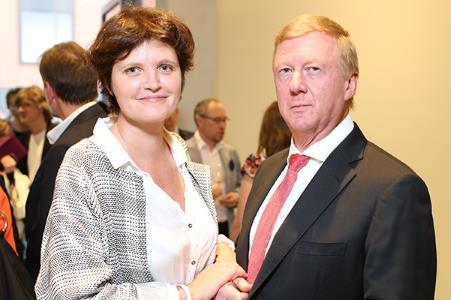 Анатолий Чубайс и Дуня Смирнова