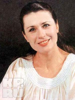 Валентина Толкунова в молодости