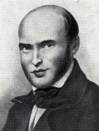 Николай Пирогов в молодости