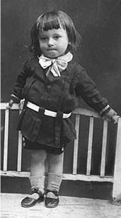 Юный Вова Ворошилов в детстве
