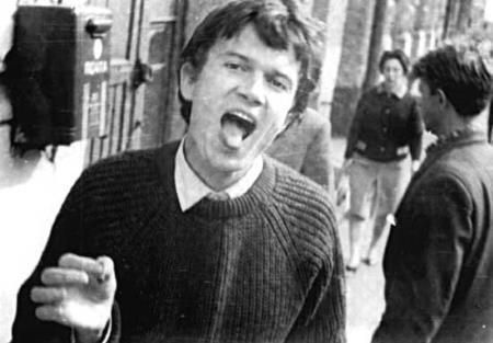 Эдуард Лимонов в молодости 1966 г.