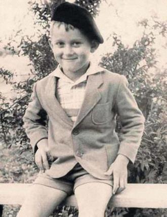 Саша Миньков в детстве