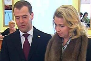 Дмитрий Медведев и Светлана (Линник) Медведева - биография личной жизни