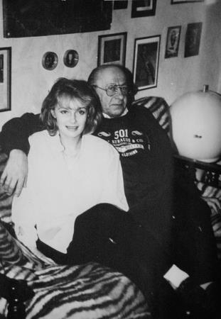 1992 год. Это наше последнее фото вместе с Евгением Евстигнеевым....