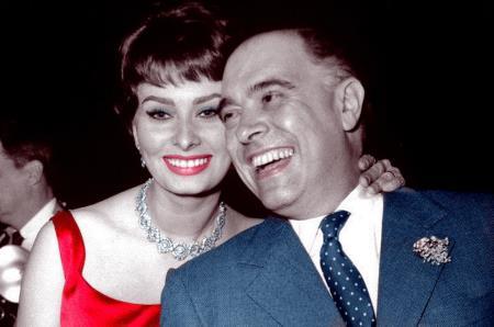 Софи Лорен и Карло Понти
