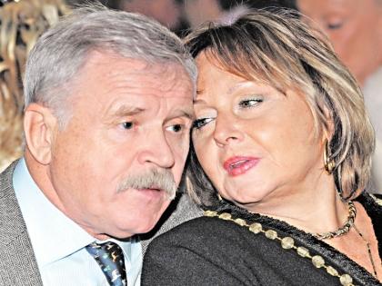 Сергей Никоненко с женой Екатериной Ворониной