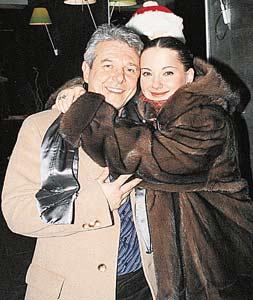 Ольга Будина с бывшим мужем Наумовым