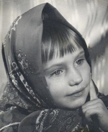Оля Прокофьева в детстве