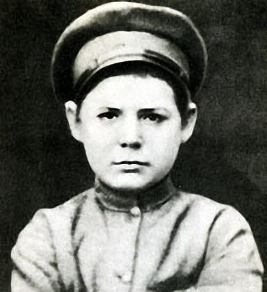 Сережа Востриков (Киров) в детстве