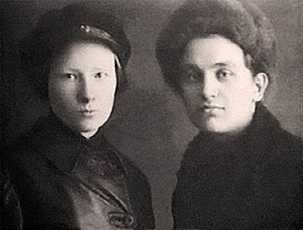 Мильда Драуле и Леонид Николаев