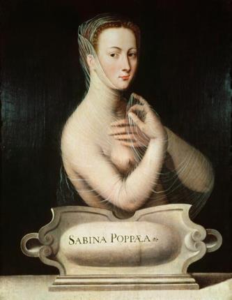 Поппея Сабина, вторая жена Нерона, была умна, красива и безнравственна