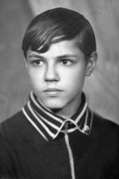Игорь Скляр в детстве