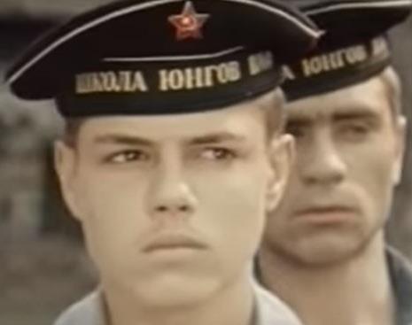 """Игорь Скляр в фильме """"Юнга Северного флота"""""""