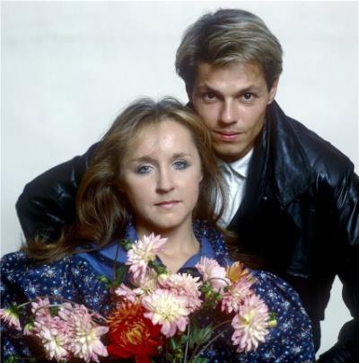 Игорь Скляр с женой Натальей Акимовой