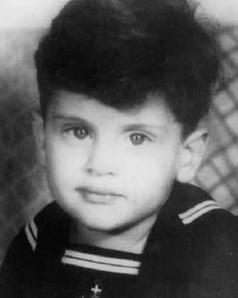 Джо Дассен в детстве