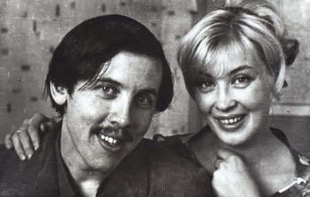Валерий Золотухин и Нина Шацкая