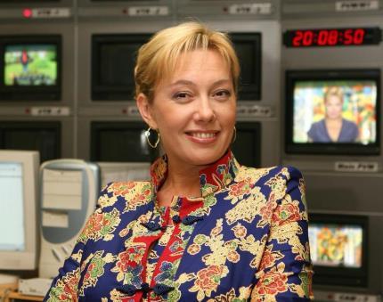 Телеведущая Арина Шарапова