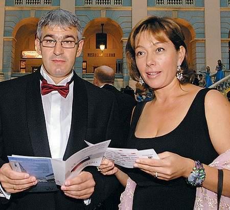 Арина Шарапова с Эдуардом Карташовым
