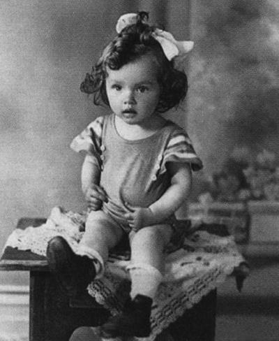 Барбара в детстве
