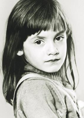 Дочь Карина в детстве