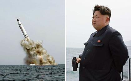 Ким Чен Ын следит за очередным испытанием ядерного оружия