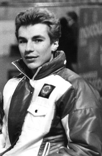 Александр Жулин в молодости