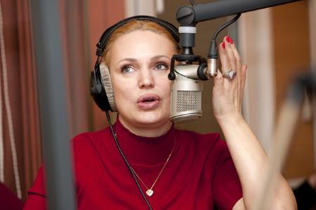"""Алла Довлатова на """"Русском радио"""""""