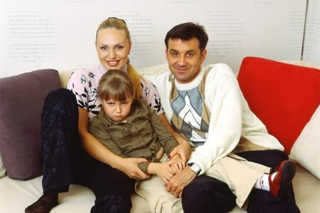 Алла Довлатова с бывшим мужем Дмитрием Лютым