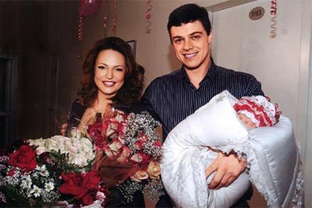 Алла Довлатова и муж Алексей Борода