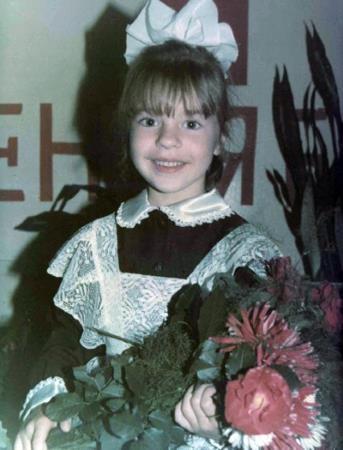 Наташа Подольская в детстве