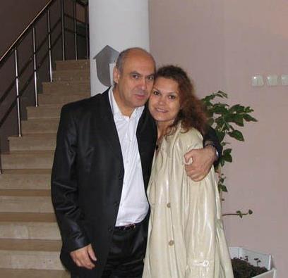 Ян Арлазоров с дочерью Аленой