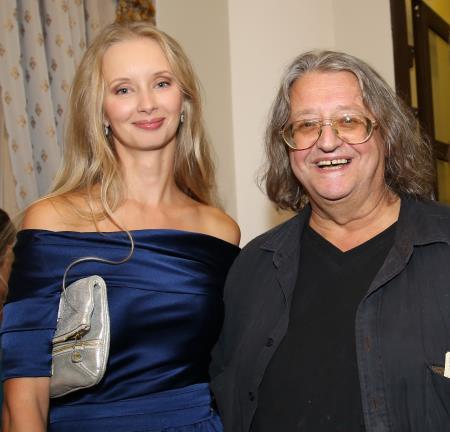 Александр Градский с последней женой Мариной Коташенко