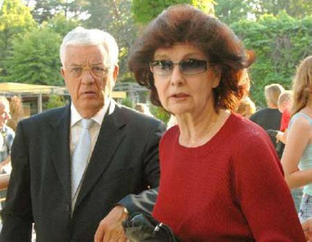 Раймонд Паулс с женой Светланой Епифановой