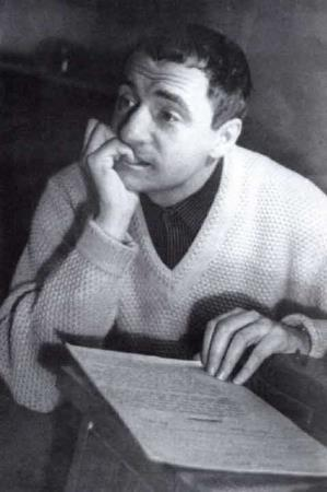 Марк Захаров в молодости