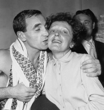 Вопреки слухам, Азнавур никогда не был любовником Эдит Пиаф